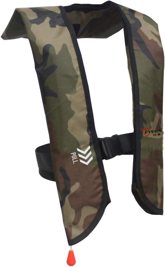 1 year warranty Eyson Inflatable Life Jacket Basic Popular popular Manual Vest