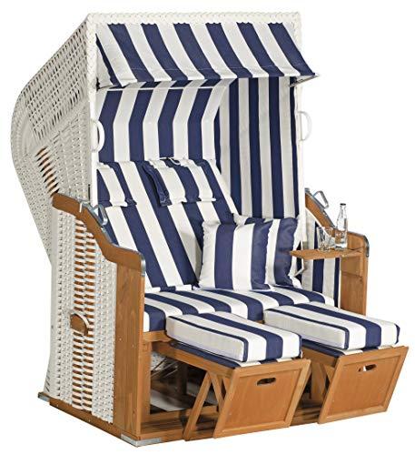 Müsing 70017502-1080 Strandkorb 250 Plus ws/blau
