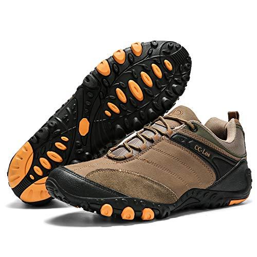 CC-Los Hiking Shoes Lightweight Outdoor Non-Slip Garden Walking Shoe Low Top Climbing Trekking Camping Men Women Unisex