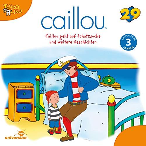 Caillou geht auf Schatzsuche Titelbild
