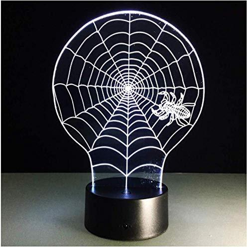 Led Usb 3D Light Fixtures Armadio Night Battery Lamp Motion Nightlight Baby Light Up Fidget Spinner Table Light Decoration