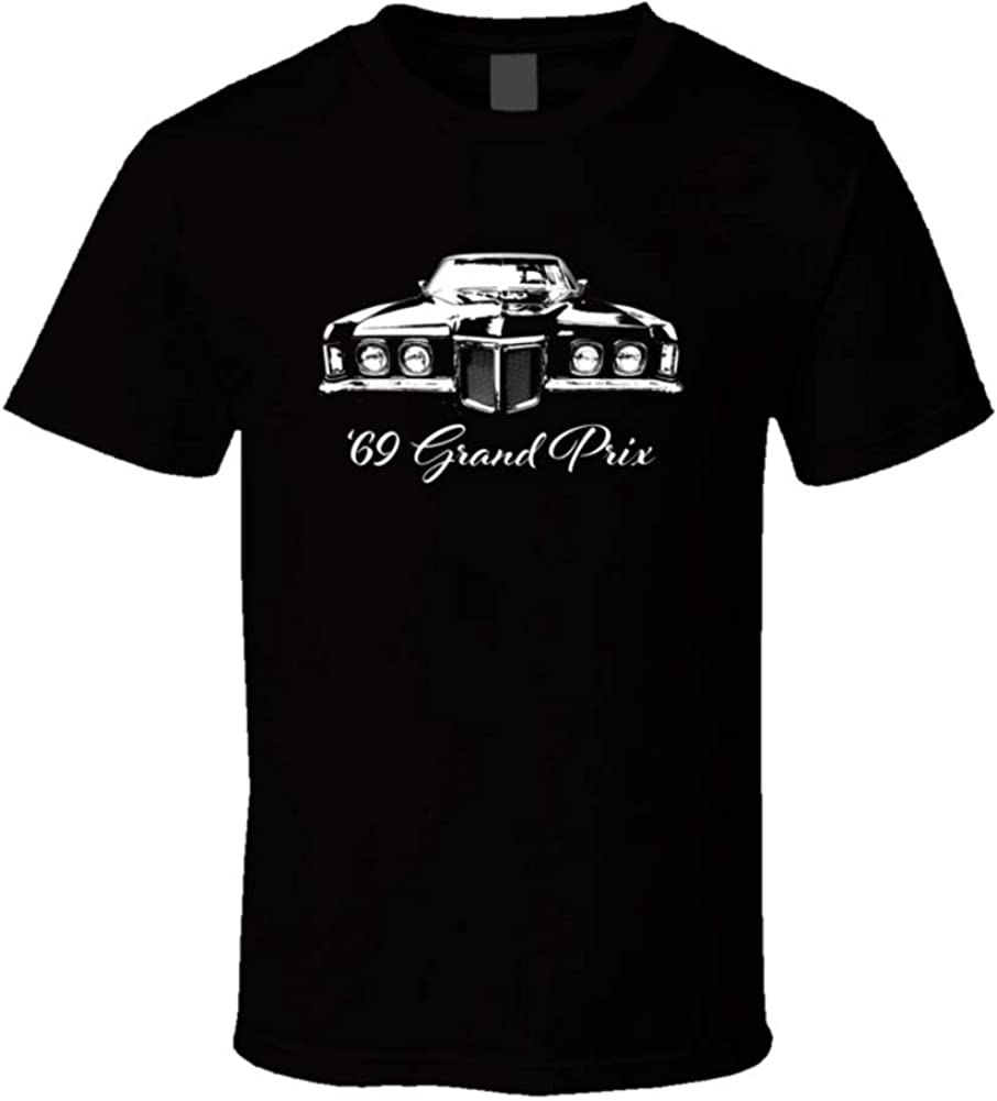 CarGeekTees 1969 Grand Prix Max 69% OFF Grill View and specialty shop with Year Name Model