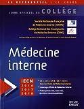 Médecine interne - Med-Line Editions - 14/12/2015