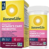 Renew Life #1 Women's Probiotics 25 Billion CFU Guaranteed, 12...