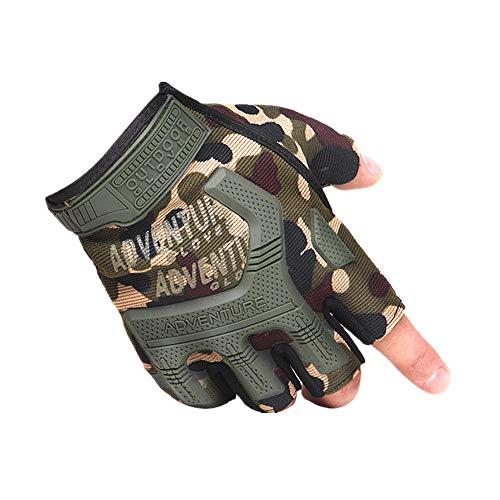 Handschuhe Fingerlos Schwarz Fingerlose Handschuhe Herren Winter Bike Handschuhe für Männer Fahrradhandschuhe Für Männer Camouflage,Free Size