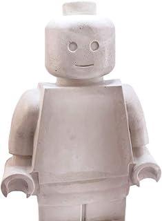 Muñeco Bloque Robot Gigante decorativo de concreto
