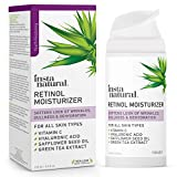 InstaNatural Retinol Moisturizer Anti Aging Night Face Cream - Face & Neck Wrinkle Lotion - Reduce Appearance of...