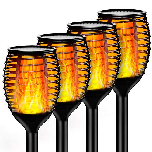 Best solar led tiki torch lights