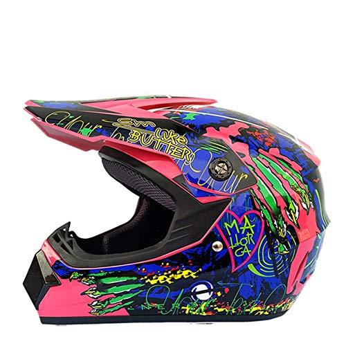 Adult Motocross Helmets Anti Shock Lightweight Full Face Motorbike Helmet Outdoor Mountain Bike Motorcycle Racing Safety Caps