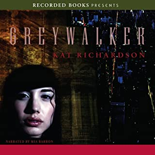 Greywalker audiobook cover art
