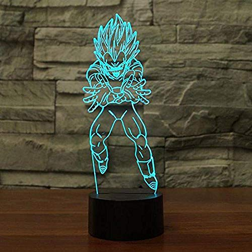 3D Night Light Anime ara 7 Colors Sensor Room Decoration Bedroom Lights Led Night Lights for Children Kids Baby