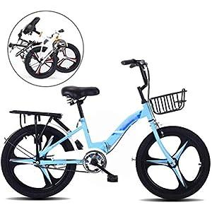 51 kKrGDE6L. SS300 Biciclette per giovani Biciclette, Bike pieghevoli Bicicletta Bicicletta MTB, Bici da 20 pollici da 20 pollici Bicicletta per ragazzi e ragazze, Bambini Pieghevole Bicicletta, Sport Tempo libero Bicic