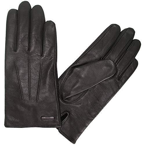 Hugo Boss Herren Lederhandschuhe mit Futter, Hainz2, Brown, size 8