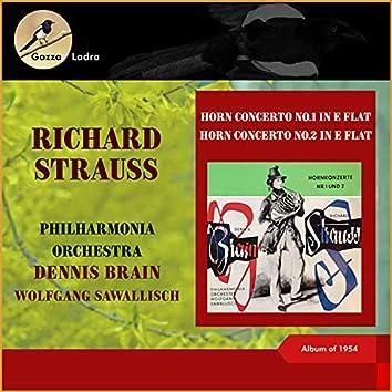 Richard Strauss: Horn Concerto No.1 in E Flat - Horn Concerto No.2 in E Flat (Album of 1954 (In memoriam Dennis Brain - 100th Birthday))