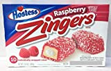 Hostess Raspberry Zingers - 10 Cakes - American Cakes -
