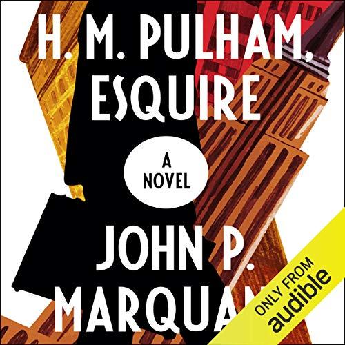 H.M. Pulham, Esquire audiobook cover art