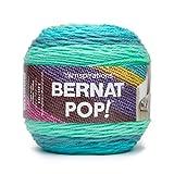 Bernat POP!, 5oz, Guage 4 Medium, 100% Acrylic, Peacock Plume