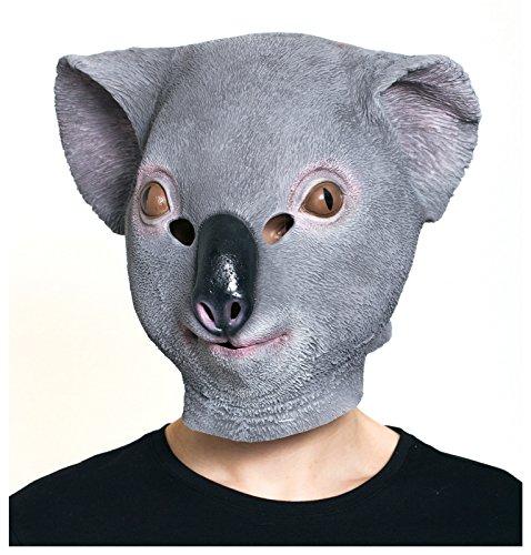 HMS Koala Maske für Herren - grau - Einheitsgröße