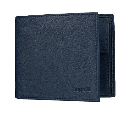SEMPRE bolso Bugatti con compartimiento para la tarjeta, 10 cm, azul