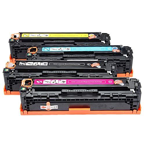 voor HP304a tonercartridge, toepasbare CC530A CM2320n 2320nf CP2025 2025dn tonercartridge 4 kleuren laserprinter Office benodigdheden voor gezondheidsbescherming size 4 kleuren.