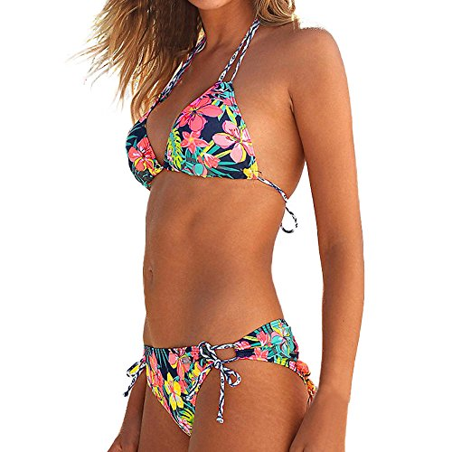 UOKNICE Swimwear for Womens, Summer Beach Brazilian Set Halter Vest Tops Bathing Suit Beachwear Tankini Bikini Online Stores Shop Tankinis Crop Best Boutique Where to Buy Orange