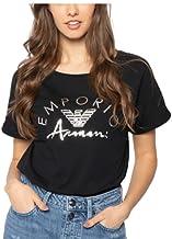 Emporio Armani T-Shirt Woman Short Sleeve Round Neck Shirts Cotton Item 164340 0P291