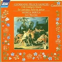 Giovanni Sances: 17th Century Music For Sopranos, Harp & Guitar - Musica Fabula
