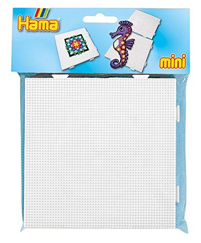 Hama 5201 - Lápices para Mini Perlas (Cuadrados, Aprox. 14,5 x 14,5 cm, 2 Unidades, Multicolor.