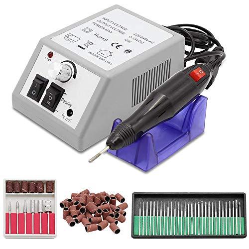 WWSZ Elektrische nagelknipser,Nagel-Poliermaschine 2000 gesetzter roter Kasten-Leichter elektrischer Nagel-Poliermaschine