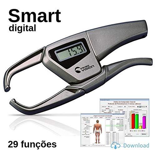 Adipômetro Digital Smart Cinza Physical Test 2.98