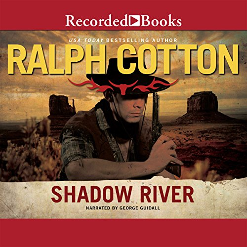Shadow River audiobook cover art