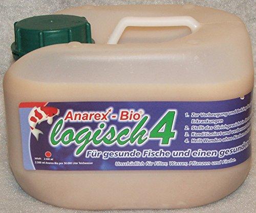Anarex-Bio schützt Ihre Koi! Milchsäurebakterien 2,5 L