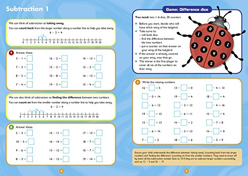 Mental Maths Ages 5-7: Ideal for home learning (Collins Easy Learning KS1)