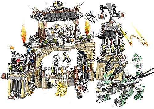 Three-dimensional puzzle Kinderspielzeugbausteine, Rechtschreibung in Bl en Selbstbauendes Stammeslager (Kinder über 6 Jahre)