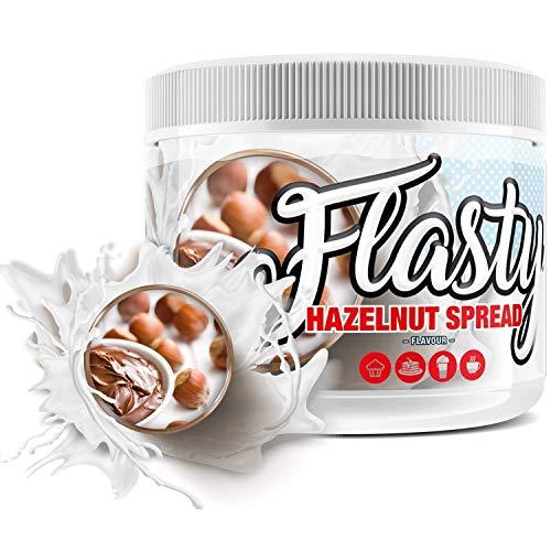sinob Flasty Geschmackspulver (Hazelnut Spread) 1 x 250g Kalorienarmes Flavour Pulver mit 'Nur ca. 7 kcal pro Portion' bringt es Leben in deinen Quark, Joghurt und vielem mehr.
