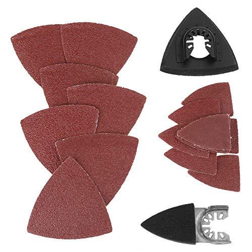 82 stks Oscillerende Multi Tool, Duurzame Schuurset Zand Pad voor Bosch Makita Dremel Fein Saw Blades Accessoires Kit