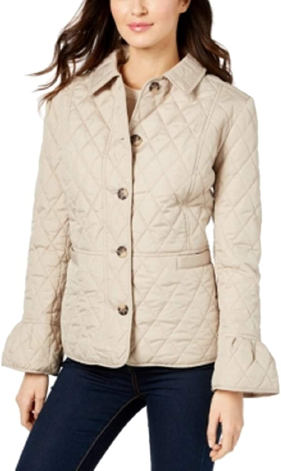 Charter Club Petite BellSleeve Quilted Jacket