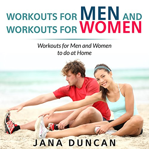 Workouts for Men and Workouts for Women audiobook cover art
