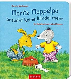 Moritz Moppelpo braucht keine Windel mehr: Ein Spielbuch mit vielen Klappen (3760773850) | Amazon price tracker / tracking, Amazon price history charts, Amazon price watches, Amazon price drop alerts
