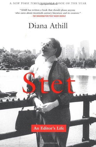 Compare Textbook Prices for Stet: An Editor's Life First Paperback Edition Edition ISBN 9780802138620 by Athill, Diana