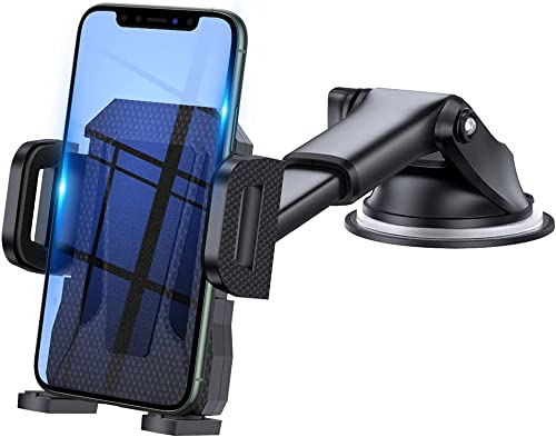 3en1 Support Telephone Voiture, Porte Téléphone Voiture Grille aération Pare Brise Tableau de Bord par Ventouse Compa...