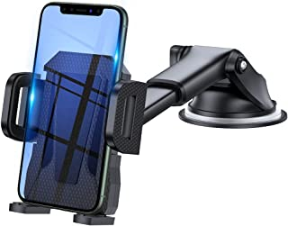 3en1 Support Telephone Voiture, Porte Téléphone Voiture Grille aération Pare Brise Tableau de Bord par Ventouse Compatible...