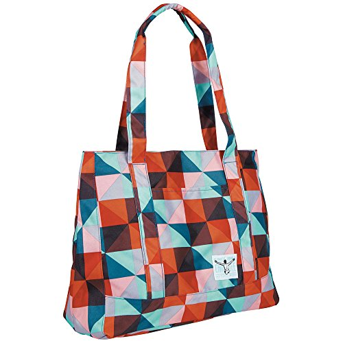 Chiemsee Damen Handtasche Shopper, Magic Triangle Red, 35 x 18 x 42 cm, 26.5 Liter