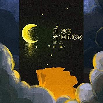 月光洒满回家的路