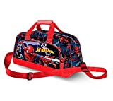 Karactermania Spiderman Hero-Pocket Sports Bag Borsa sportiva per bambini, 45 cm, Blu (Blue)