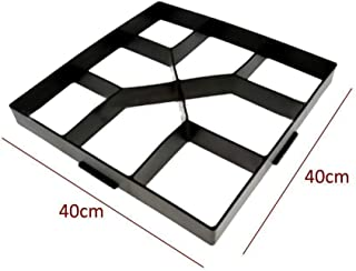 DIY Plastic Path Maker Mould Paving Brick for Walk Pavement Concrete Mold Paving Cement Brick Stone Road Concrete Mold for Road