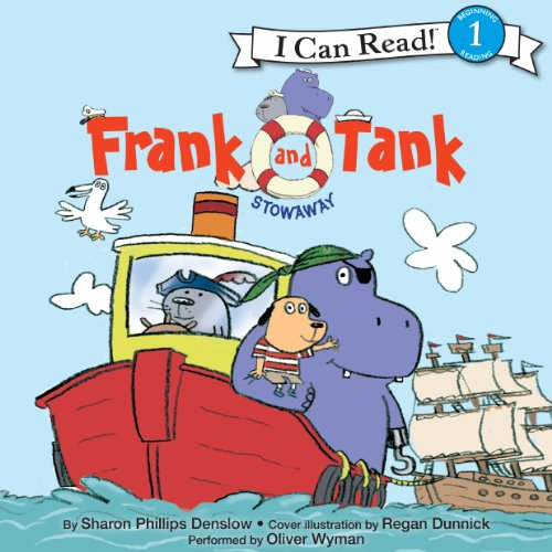 Frank and Tank: Stowaway audiobook cover art