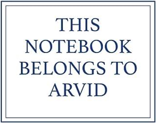 This Notebook Belongs to Arvid