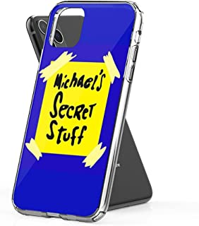 Crystal Clear Phone Cases Michael's Secret Stuff - Space Jam Bottle Case Cover Compatible for iPhone (11)