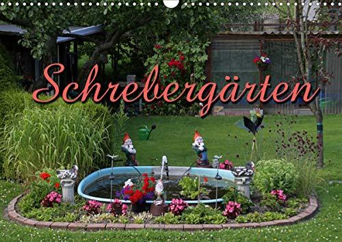 Schrebergärten (Wandkalender 2021 DIN A3 quer)